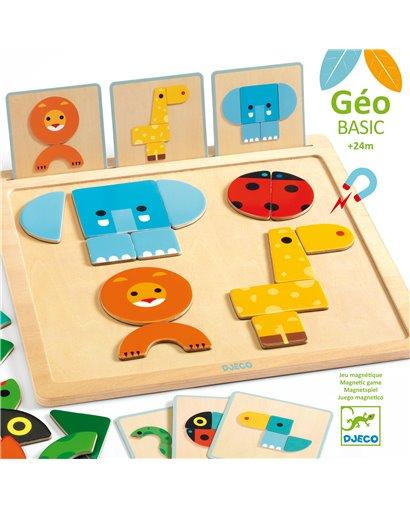 GeoBasic - Puzzle magnético