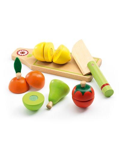 Imitación  - Frutas y vegetales para cortar