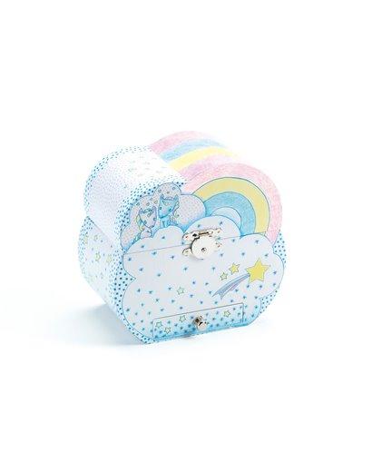 Caja de música - Sueño de unicornios