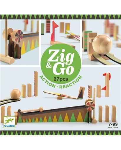 Zig & Go - Reacción en cadena (27 pcs)