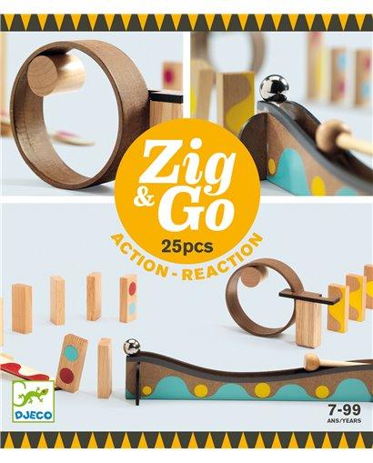 Zig & Go - Reacción en cadena (25 pcs)