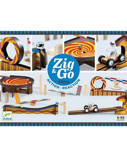Zig & Go - Reacción en cadena (45 pcs)
