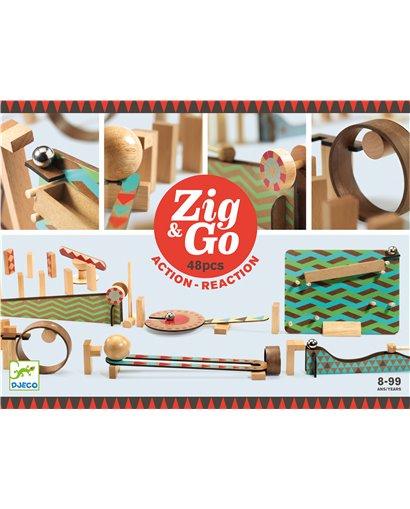 Zig & Go - Reacción en cadena (48 pcs)