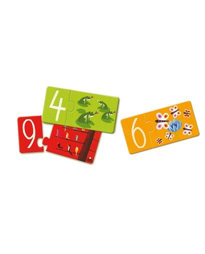 Puzzle dúo - Números