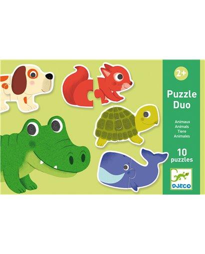 Puzzle dúo - Animales