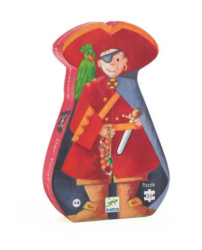Puzzle Silueta - El Pirata - 36 pcs