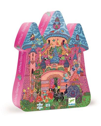 Puzzle Silueta - El Castillo de cuentos - 54 pcs