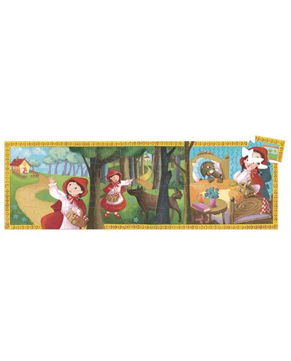 Puzzle Silueta - La Caperucita Roja - 36 pcs