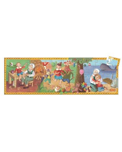 Puzzle Silueta - Pinocchio - 50 pcs