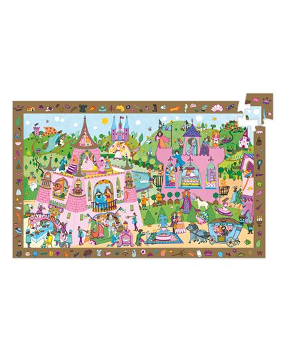Puzzle Observación - Princesas - 54 pcs
