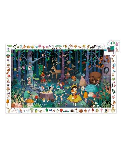 Puzzle Observación - Bosque encantado - 100 pcs