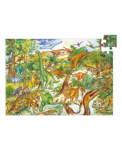 Puzzle Observación - Dinosaurios - 100 pcs