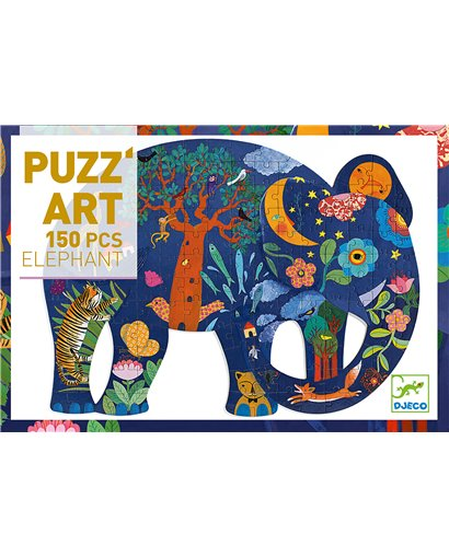 Puzzle Art - Elefante