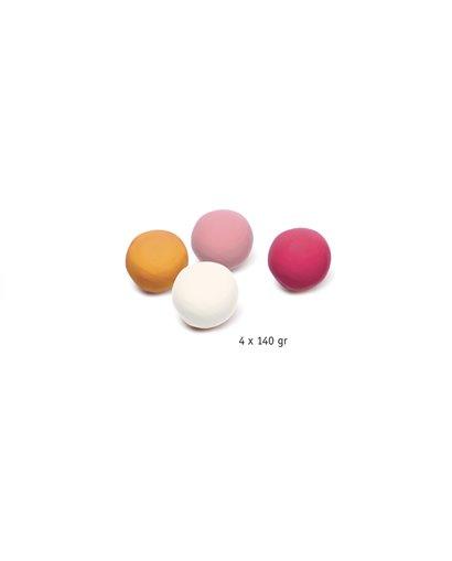 4 botes de plastilina - Sweet