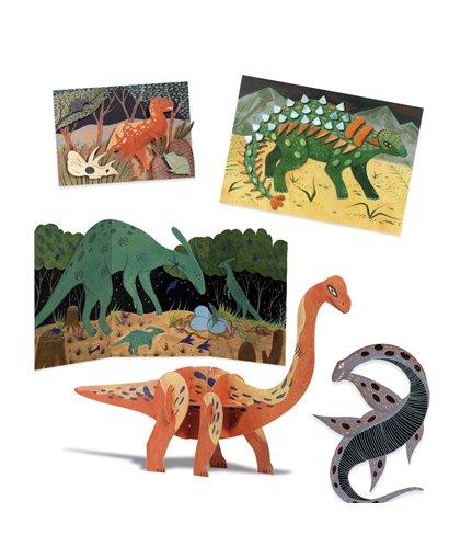 Cofre multiactividades - El mundo de los dinosaurios