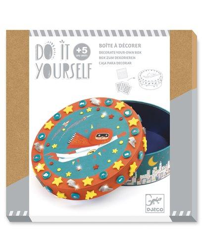 Do It Yourself - Caja para decorar - Súper tesoro