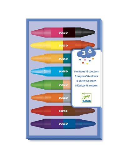 Colores para peques - 8 Ceras dobles min. 2 u.)