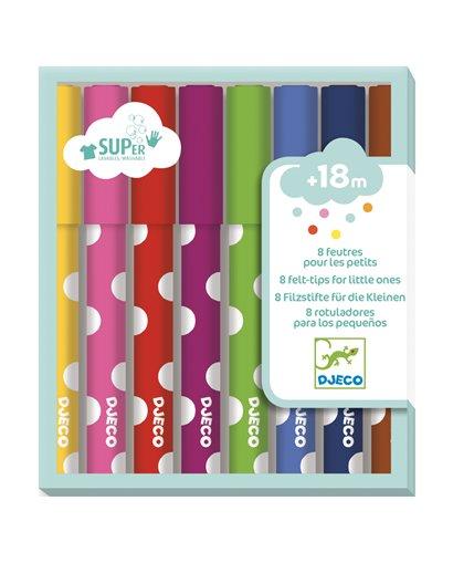 Colores para peques - 8 rotuladores (min. 2 u.)