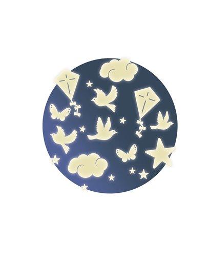Stickers fosforescentes - En el cielo - Pegatinas