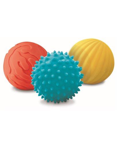 Conjunto 3 pelotas de estimulación sensoriales