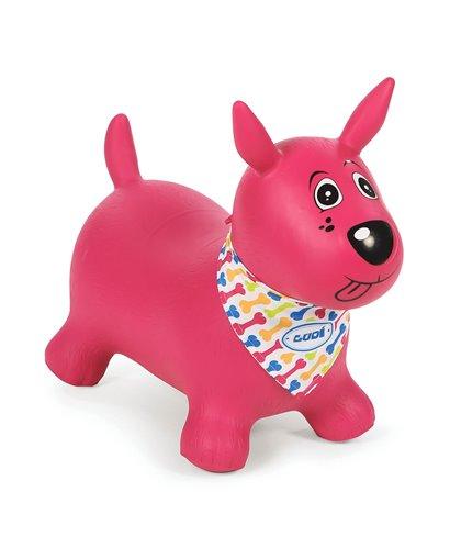 Mi perro saltarín rosa