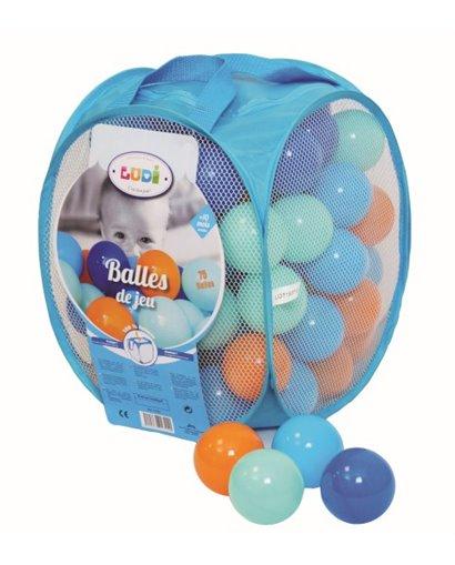 Bolsa de pelotas - Azules