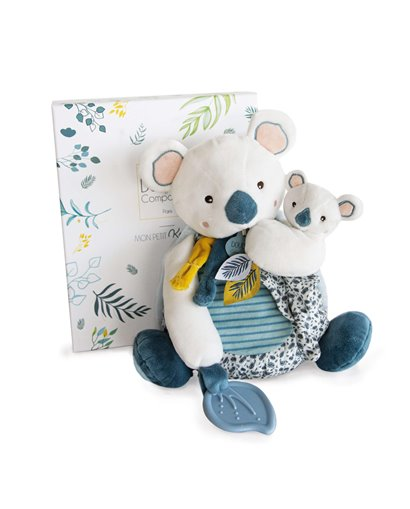 Yoka Koala - Peluche Koala GM con bebé y mordedor