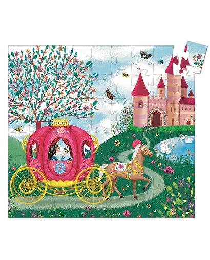 Puzzle Silueta - La carroza de Elisa - 54 pcs