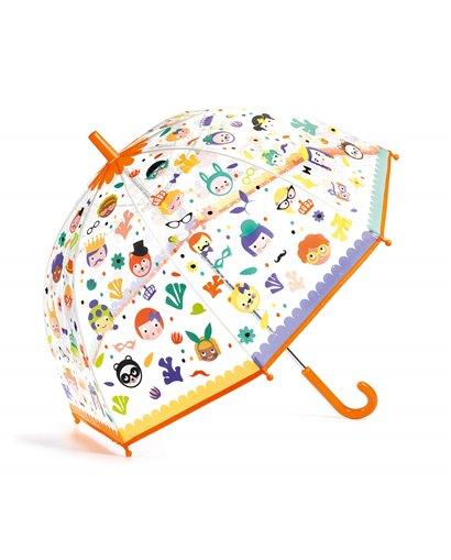Paraguas Caras divertidas