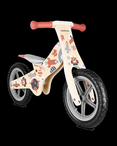 Bicicleta de madera sin pedales Cosmo