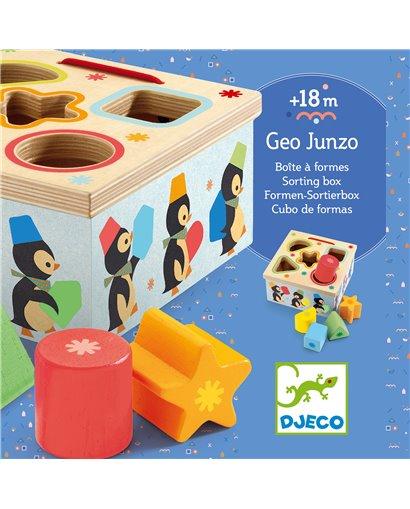 Geo Junzo - Cubo de formas