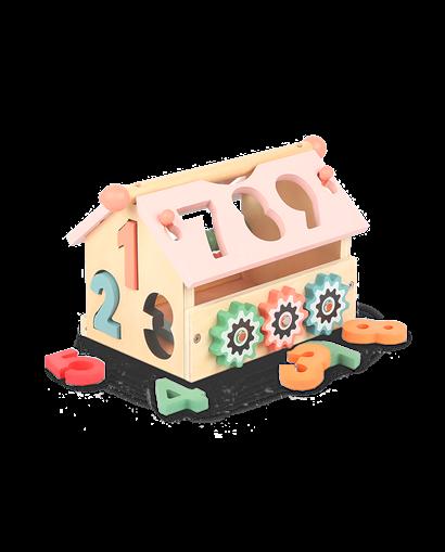 Casa encajables de madera