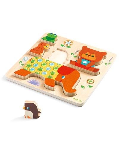 Puzzle Encajable Woodypile