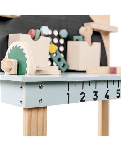 Banco de herramientas de madera