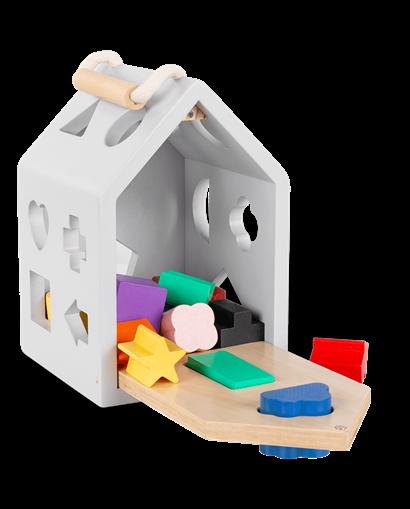 Casa con formas - Encajables